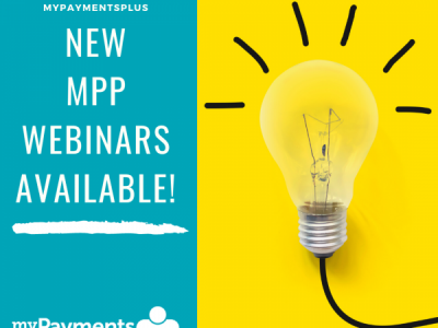 Attention MyPaymentsPlus Users: Join Us For Two Virtual Events This Week!