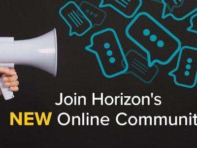 Announcing Horizon's New Online User Community